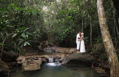 Vestuvės džiunglėse