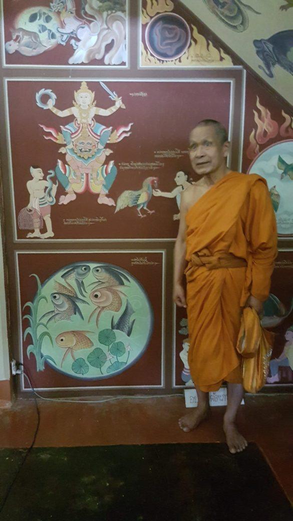 Budistų vienuolis