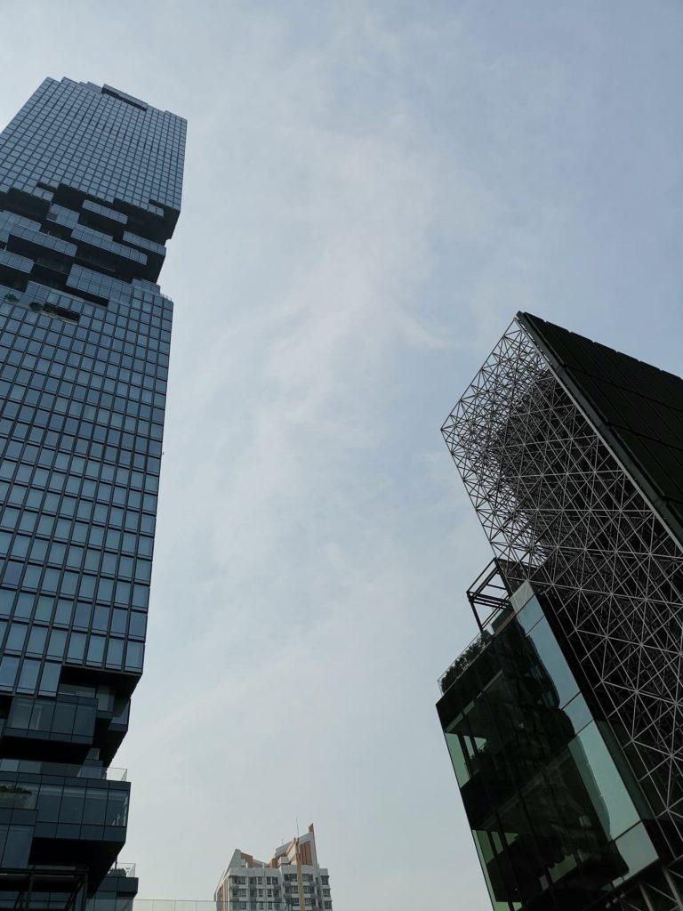 Aukščiausias Tailando pastatas Bankoke
