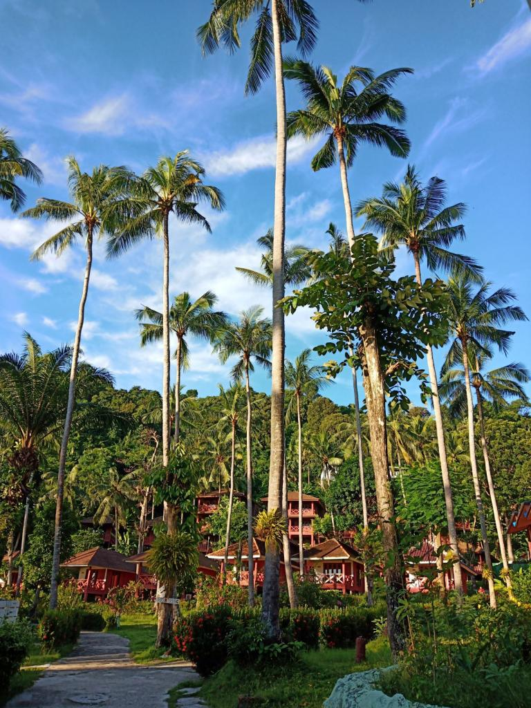 Koh Ngai resort viešbučio teritorija