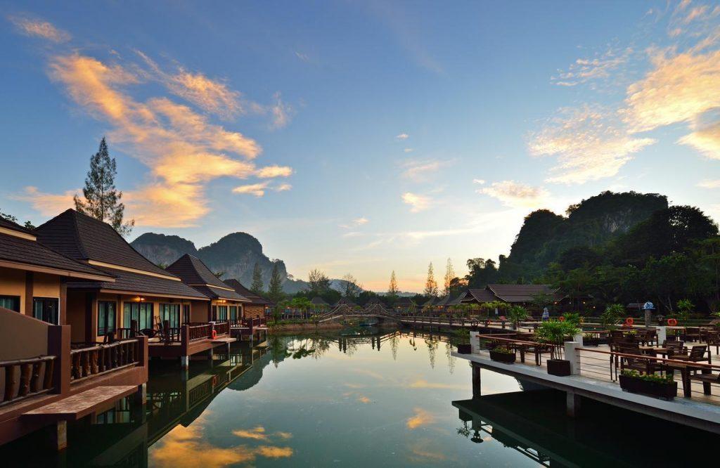 poonsiri resort viešbutis krabyje ant vandens