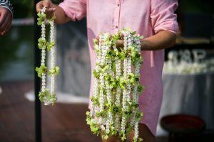 Dovana svečiam - tradicinė tailandietiška grilianda