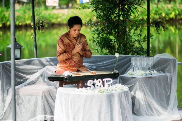Tailandietiška tradicinė muzika ceremonijos metu