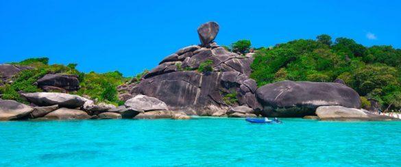 Similan salos Tailandas