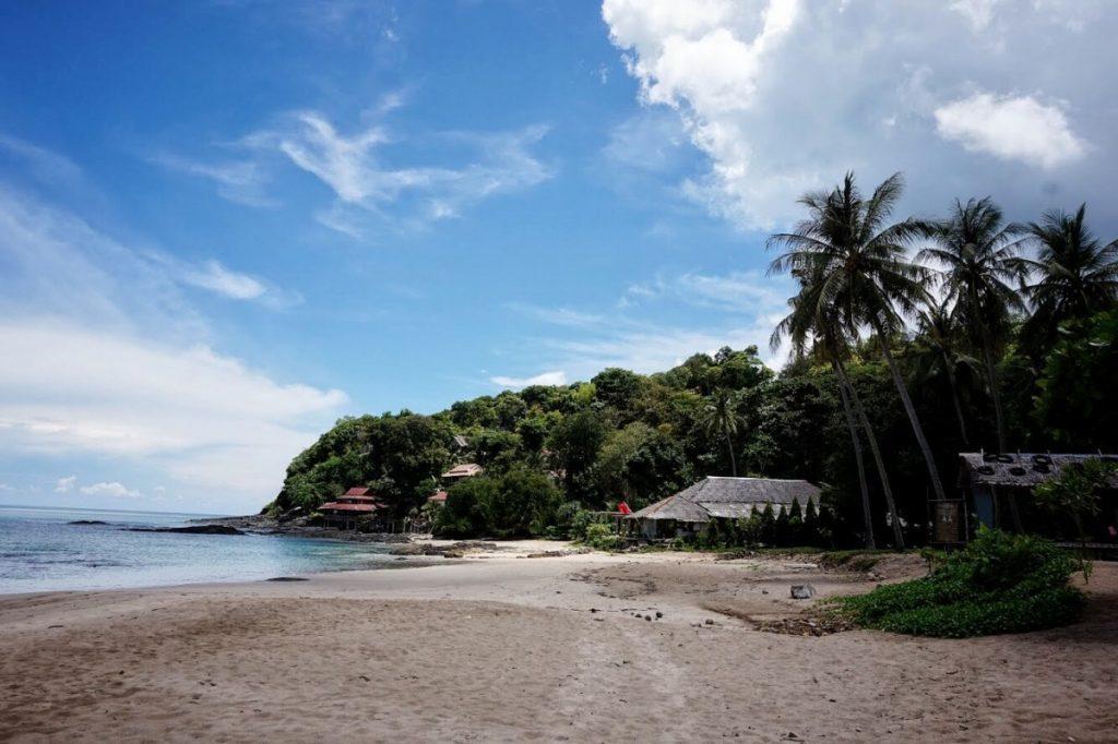 bamboo beach tailande pagal gintare ir sauliu