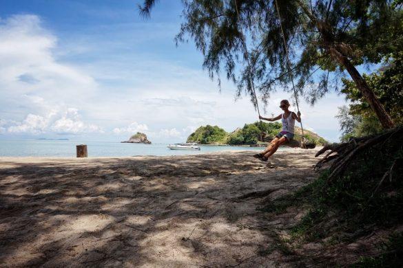 ko lanta beach tailande pagal gintare ir sauliu