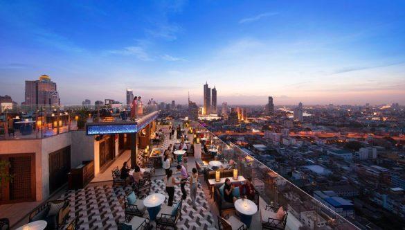 marriott the surawongse baseinas ant stogo Bankoko viešbutyje