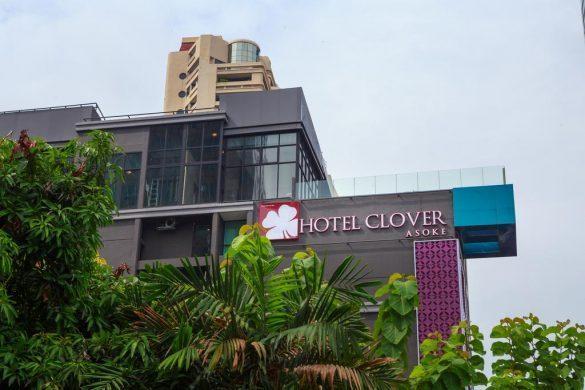 clover asoke viešbučio baseinas ant stogo