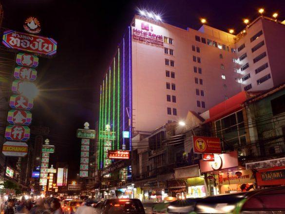 royal chinatown baseinas ant stogo bankoko viešbutyje