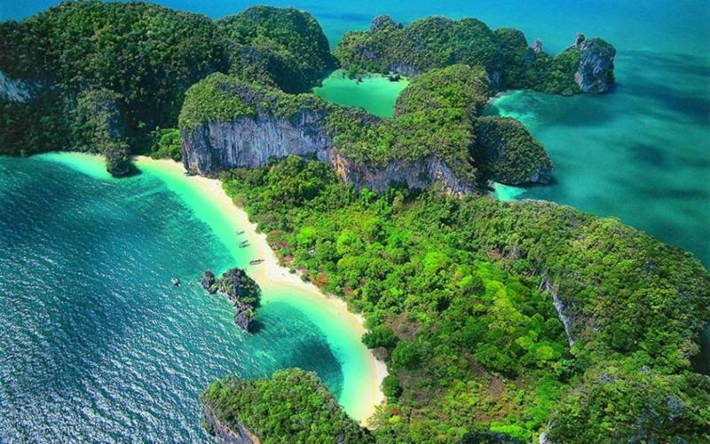 Hong salos, Krabi