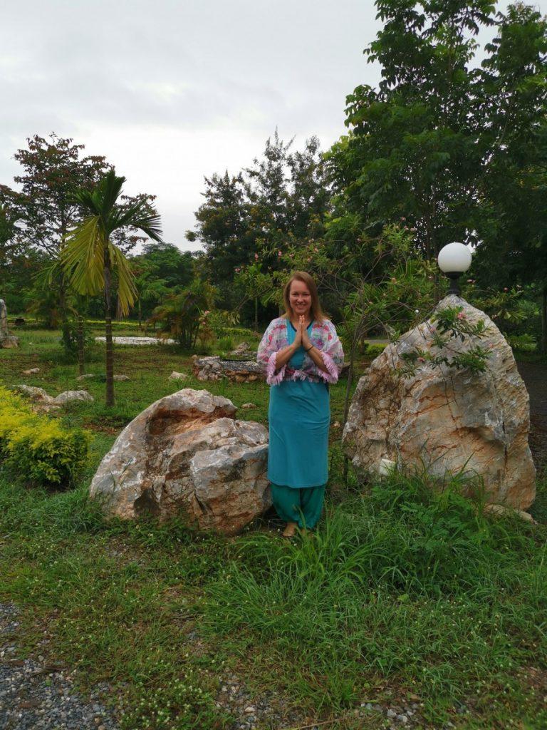 Mindfulnes vienuolynas Tailande Thai Plum village