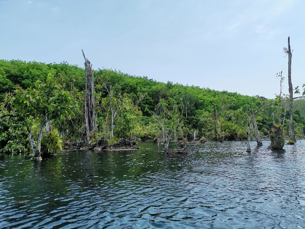klong root ežeras nematyta vieta