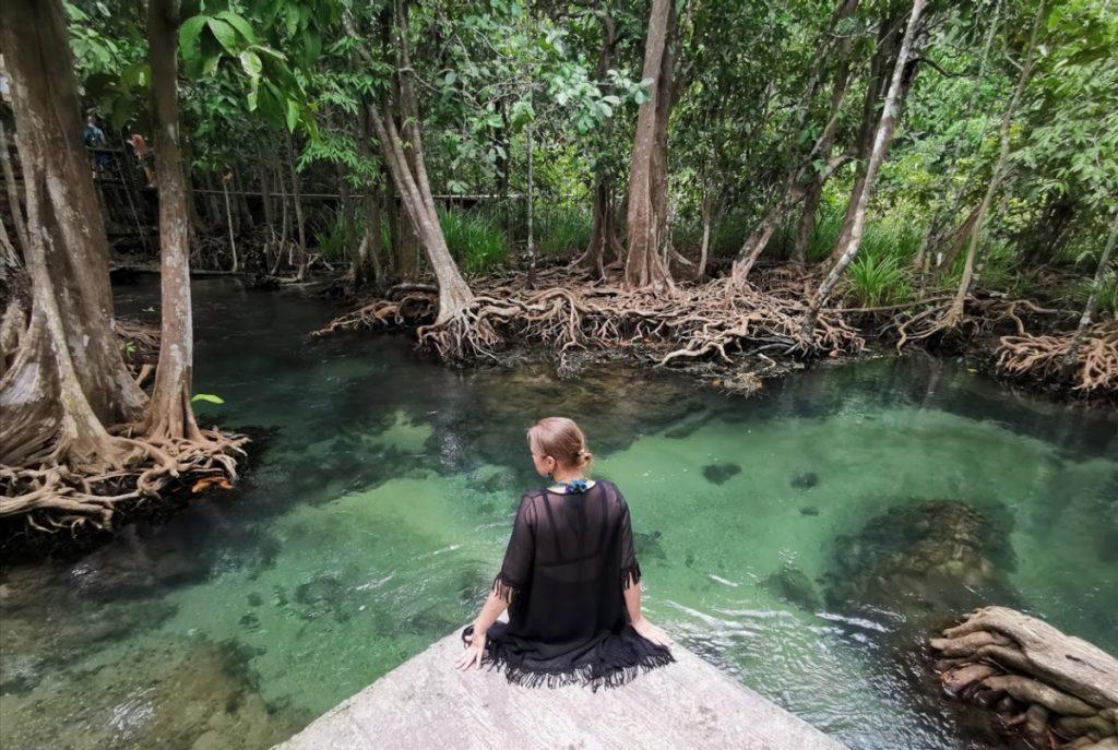 Tha Pom Klong Song Nam nacionalinis parkas Krabi