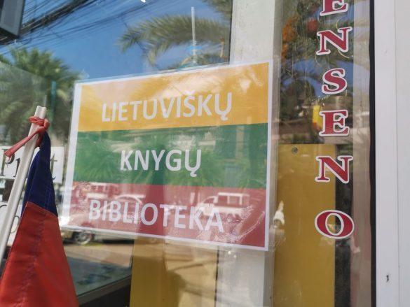lietuviškų knygų biblioteka ao nange krabi
