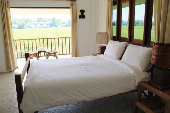 country retreat viešbutis ryžių laukuose