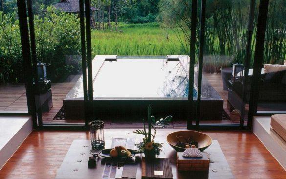 ryžių laukai veranda high resort