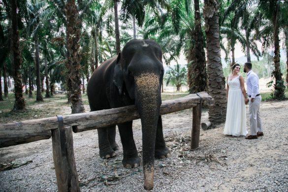 jaunieji vestuves tailande