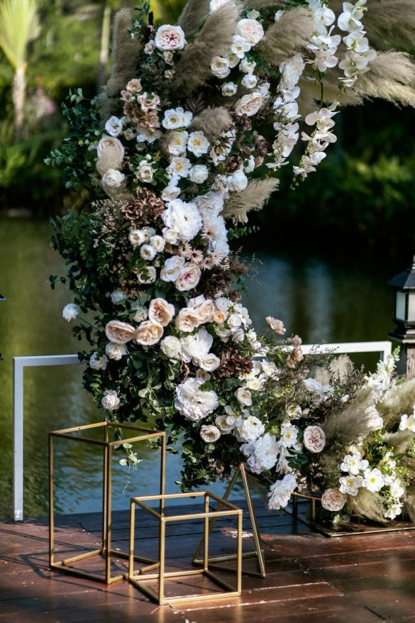 gėlių arka vestuvės tailande