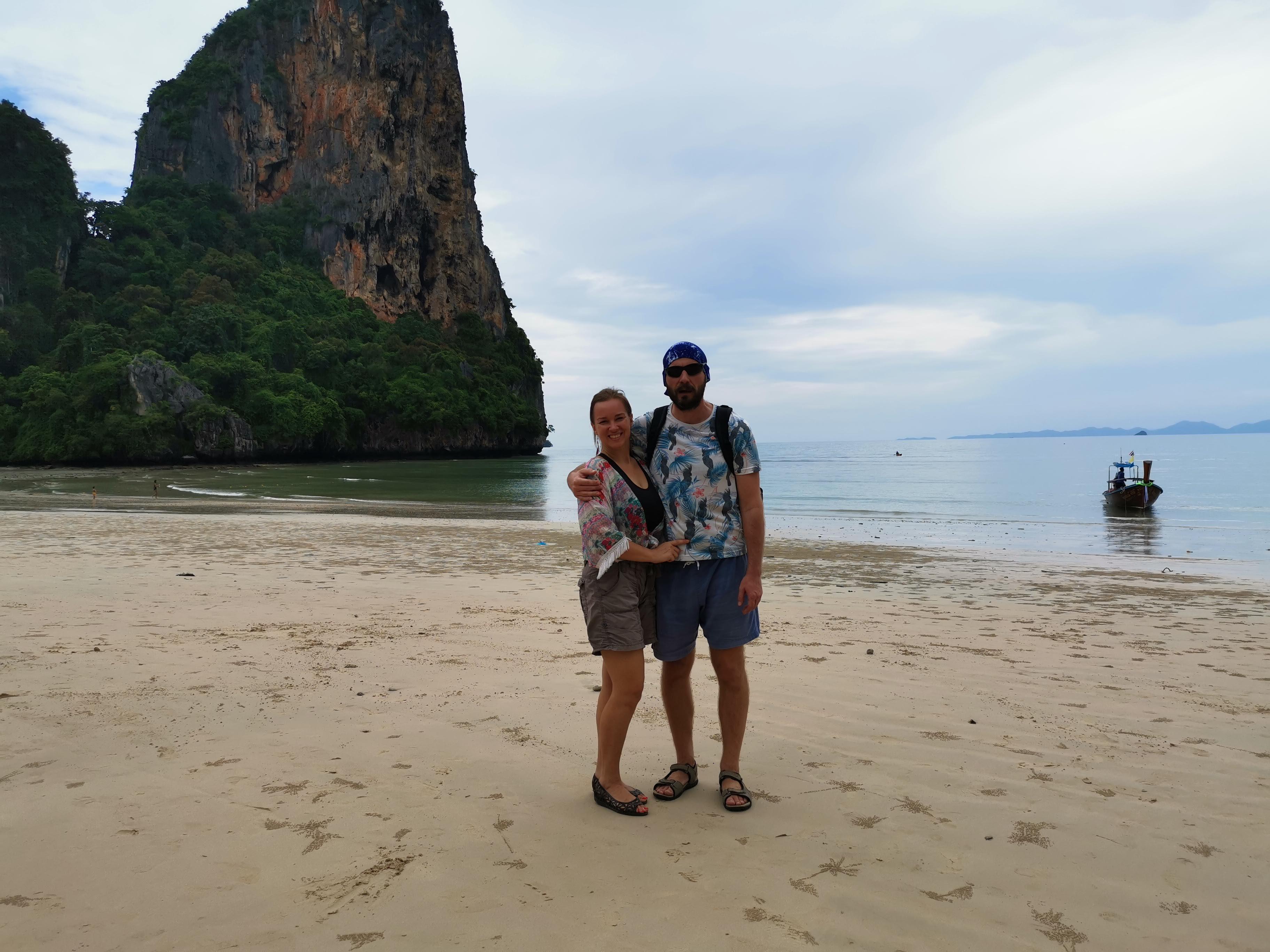 Railay Phranang paplūdimys Kupeciai