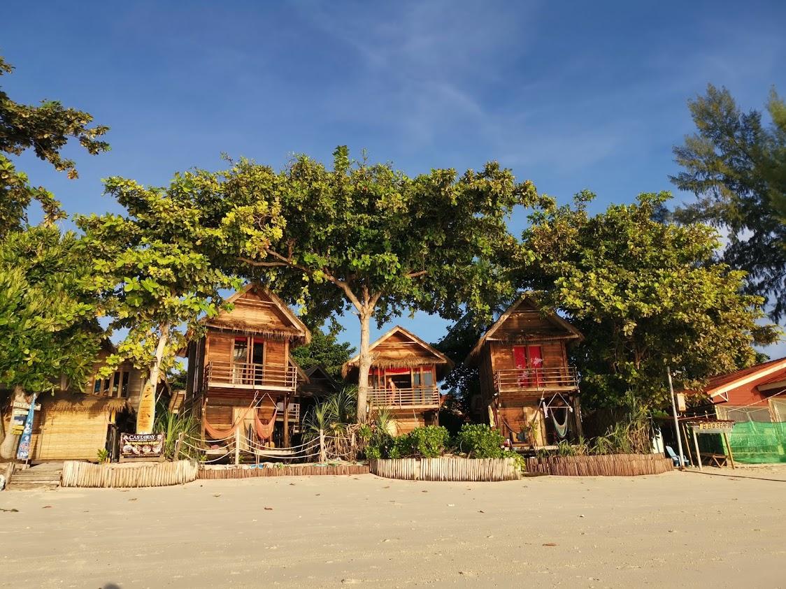 castaway viesbutis ant juros kranto