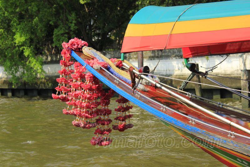 paplaukiojimas kanalais bankoke laivu