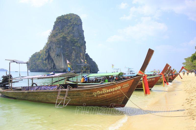 railay phranang paplūdimys
