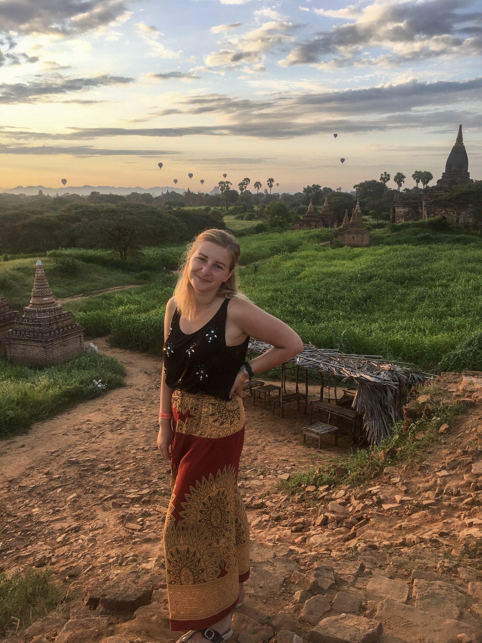 Mianmaris, Bagan šventyklos