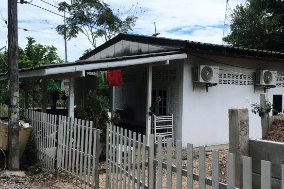 Sawi miestelis Tailande
