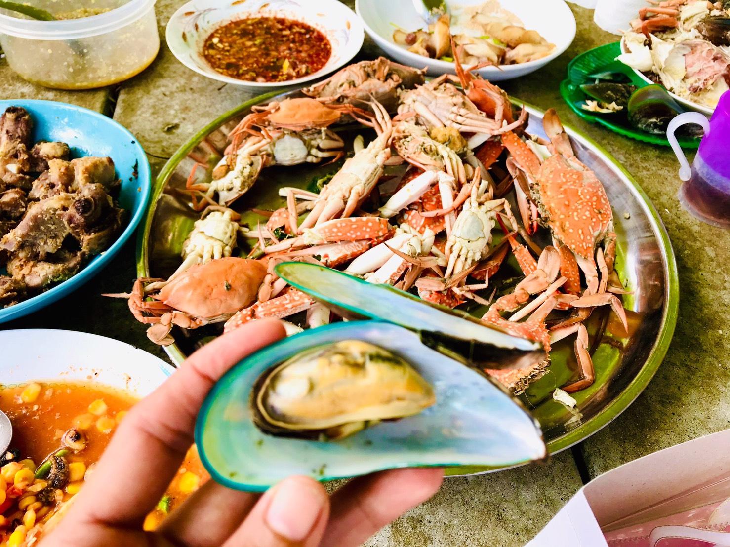 Tailandietiškas maistas - jūros gėrybės