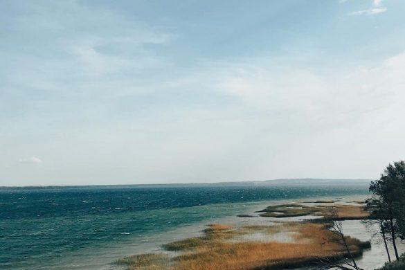 Dusios ežero kraštovaizdis