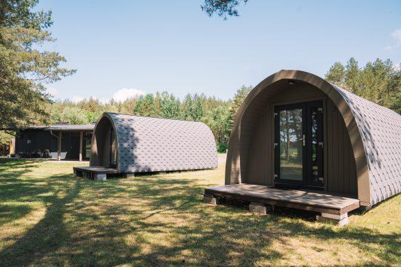 Nameliai birštone Natur Camp